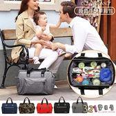媽媽包斜背包-大容量大開口多功能旅行袋Colorland台灣總代理-321寶貝屋