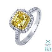 【鑽石屋】GIA黃鑽戒指