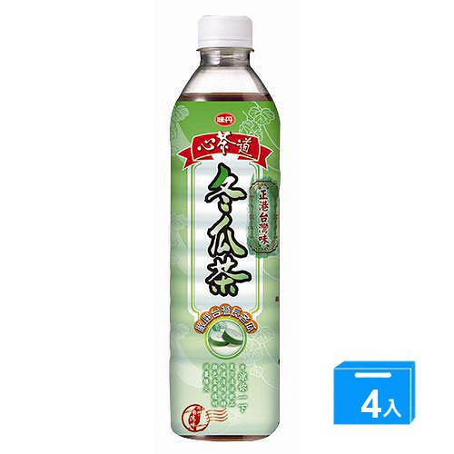 味丹心茶道冬瓜茶600ml*4入【合迷雅好物超級商城】