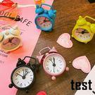 電子鬧鐘時尚簡約個性創意臥室時尚簡約學生數字素面迷你可愛兒童式小鬧鐘