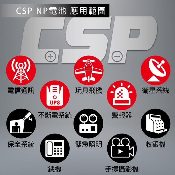 【CSP進煌】NP10-6 鉛酸電池6V10AH/照明/童車蓄電池/UPS/電子秤/通信電機用/手電筒/血壓計