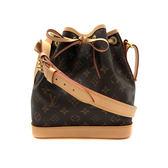 【台中米蘭站】全新品 Louis Vuitton Monogram  NOÉ BB 束口水桶斜背包 (M40817-咖)