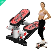踏步機家用免安裝登山機多功能瘦腰機瘦腿腳踏機健身器材機xw