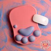 清新創意女生滑鼠墊護腕托可愛大護手卡通辦公加厚矽膠手腕墊手托