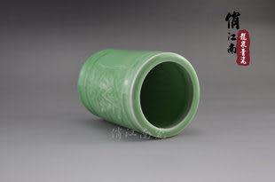 龍泉青瓷創意筆筒
