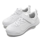 Nike 慢跑鞋 Varsity Leather PSV 白 全白 童鞋 中童鞋 基本款 運動鞋 【ACS】 CN9393-101