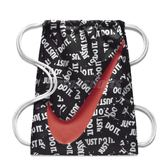 Nike 束口袋 Graphic Kids Gymsack 黑 白 紅 童款 【PUMP306】 BA5262-023