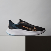 Nike Zoom Winflo 7 男鞋 黑綠 氣墊 避震 慢跑鞋 CJ0291-013