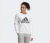 Adidas MH BOF SWEATSHIRT 女款白色長袖上衣-NO.DX7965