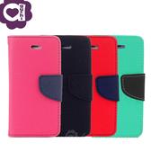 ASUS ZenFone 4 Max ZC554KL 馬卡龍雙色側掀手機皮套 磁吸扣帶 支架式皮套 桃黑紅綠多色可選