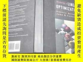 二手書博民逛書店英文原版introduction罕見to liner optimization線性規劃導論 (大16開精裝本)