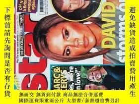 二手書博民逛書店Star罕見(magazine) 12 2007 DAVID storms out on POSH 明星八卦娛樂時
