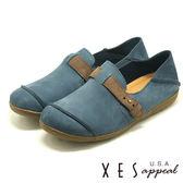 XES 女鞋 生活休閒 特色鞋飾 軟Q舒適 MIT 上班休閒都EASY _藍