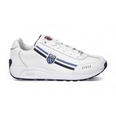 【K-SWISS】Enstev復古運動鞋-男-白/藍(0914-168)