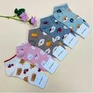 韓國襪子 水果動物趣 女襪 短襪 休閒襪 學生襪 蕃茄 橘子 水蜜桃