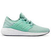 New Balance 女鞋 慢跑 透氣 網布 Fresh Foam 蘋果綠【運動世界】WCRUZRM2