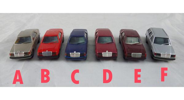 【震撼精品百貨】西德Herpa1/87模型車~Benz-Mercedes 300CE/300E/300TE【共6款】