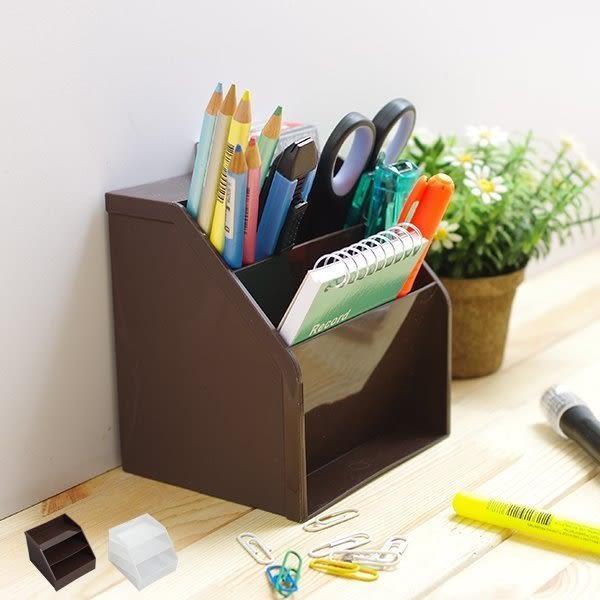 日本製 桌上三層收納盒 文具收納 化妝盒 桌面小物收納 整理盒 置物架 辦公室【SV5080】BO雜貨