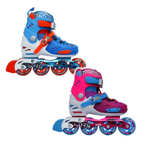 成功 鋁合金伸縮兒童平花鞋 直排鞋 溜冰鞋(2色),搭配【護具系列│原價$600-加購價只要$199元】