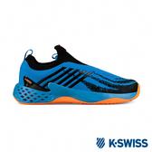 K-SWISS Aero Knit專業網球鞋-男-藍/霓橘