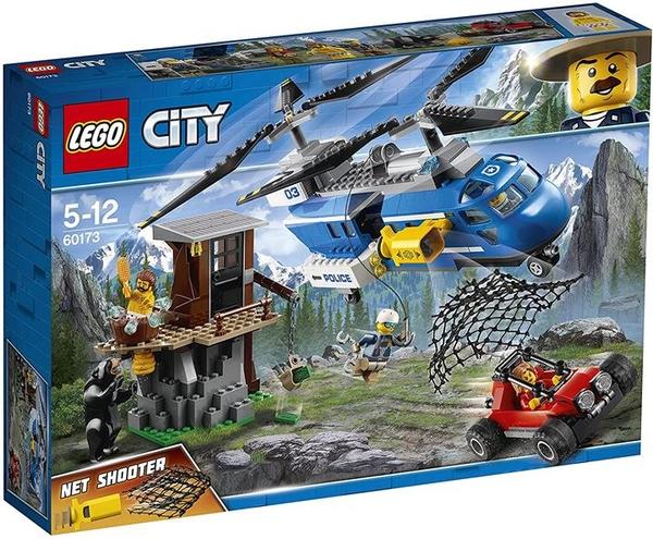 LEGO 樂高 城市系列 山虎 60173 積木玩具 男孩
