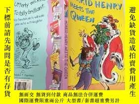 二手書博民逛書店Horrid罕見Henry Meets the Queen可怕.的亨利 遇 見了女王。,Y200392