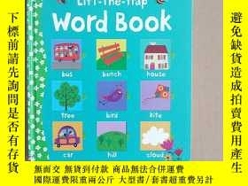 二手書博民逛書店Lift-the-Flap罕見Word Book (Board)Y11026 Felicity Brooks(