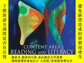 二手書博民逛書店Content罕見Area Reading And Literacy: Succeeding In Today s