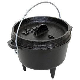 美國 LODGE 6吋 荷蘭鍋 L6CO3 (美國製) 鑄鐵鍋 露營 登山
