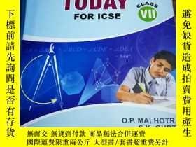 二手書博民逛書店Mathematics罕見Today 7 icseY12800