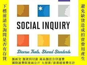 二手書博民逛書店Rethinking罕見Social Inquiry: Diverse Tools, Shared Standar