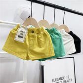 女童短褲男童夏季休閒短褲新品中小女童百搭糖果色洋氣寬鬆褲潮流韓版 寶貝計畫