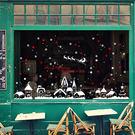 【BlueCat】紅白雪花歐洲小鎮櫥窗佈...