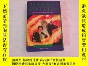 二手書博民逛書店HARRY罕見POTTER and the Half-blood prince【哈利·波特與混血王子】英文原版 精