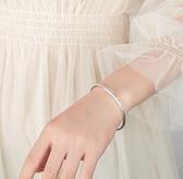 手鐲 波西米亞手鐲純銀手環三生三世小眾設計鐲子森系手工閨蜜情人禮物【快速出貨八折鉅惠】
