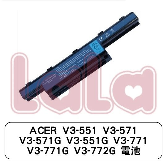 ACER V3-551 V3-571 V3-571G V3-551G V3-771 V3-771G V3-772G 電池