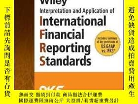 二手書博民逛書店Wiley罕見IFRS 2015: Interpretation and Application of Inter