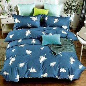 AGAPE 亞加‧貝《小森林》MIT舒柔棉 雙人5尺三件式薄床包組