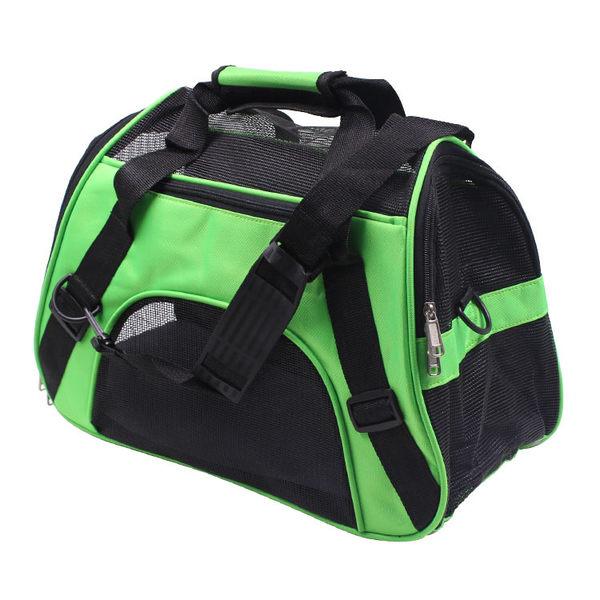 寵物包狗背包寵物狗狗外出包泰迪狗包貓包袋旅行包透氣網格便攜包 京都3C