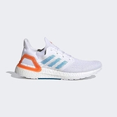 Adidas Ultraboost 20 Primeblue [EG0768] 男鞋 運動 慢跑 穿搭 愛迪達 白 藍