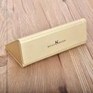 盒男女皮質三角形可摺疊太陽墨鏡盒方便攜帶【八折搶購】