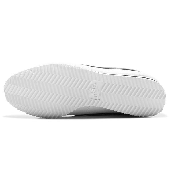 Nike 休閒鞋 Wmns Classic Cortez Leather 白 黑 女鞋 男鞋 阿甘鞋 復古慢跑鞋 皮革【ACS】807471-101