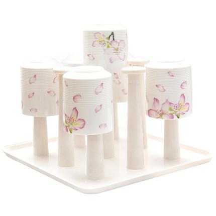 杯架-木丁丁創意杯子架家用杯架瀝水置物架收納架廚房馬克水杯架子掛架 【快速】