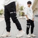 縮口褲 韓國製#BLACK LABEL高...