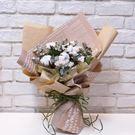棉花 乾燥花束--情人花束.生日花束.聖...