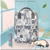 後背包男女韓版百搭書包旅行包大容量背包【奇趣小屋】