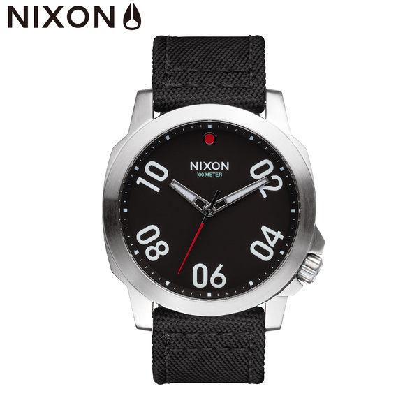 NIXON手錶 原廠總代理 A514-008 Ranger 45 Nylon 潮流時尚帆布錶帶 生日 情人節禮物