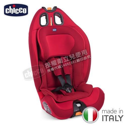 Chicco Gro-Up 123成長型安全汽座(安全座椅)科技藍-(贈munchkin幼兒護頸枕)