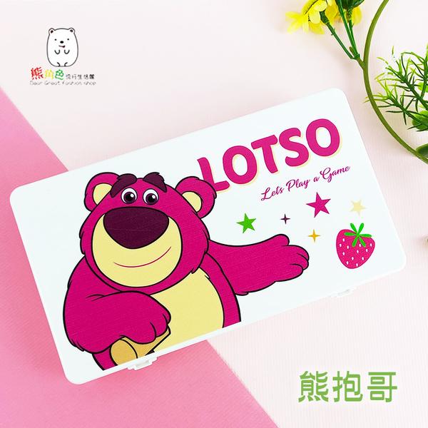 迪士尼 口罩收納盒 維尼 奇蒂 史迪奇 熊抱哥 愛麗絲貓 【DS0138】 熊角色流行生活館