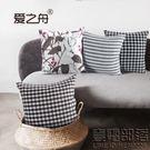 沙發抱枕含芯 腰靠辦公室椅子靠背靠枕墊腰腰墊腰枕靠墊